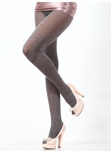 Pierre Cardin Cotton Kalın Külotlu Çorap Gri